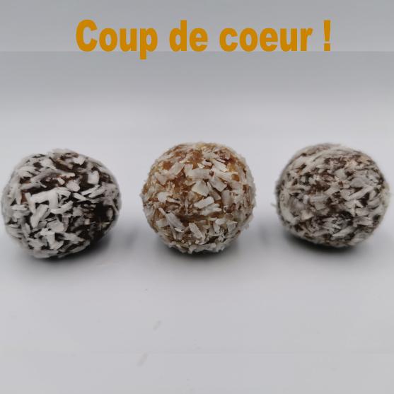 Energy balls Sélection La Spiruline de Julie coup de coeur