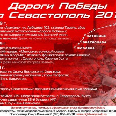 Маршрут «Дороги Победы Тамань — Севастополь»
