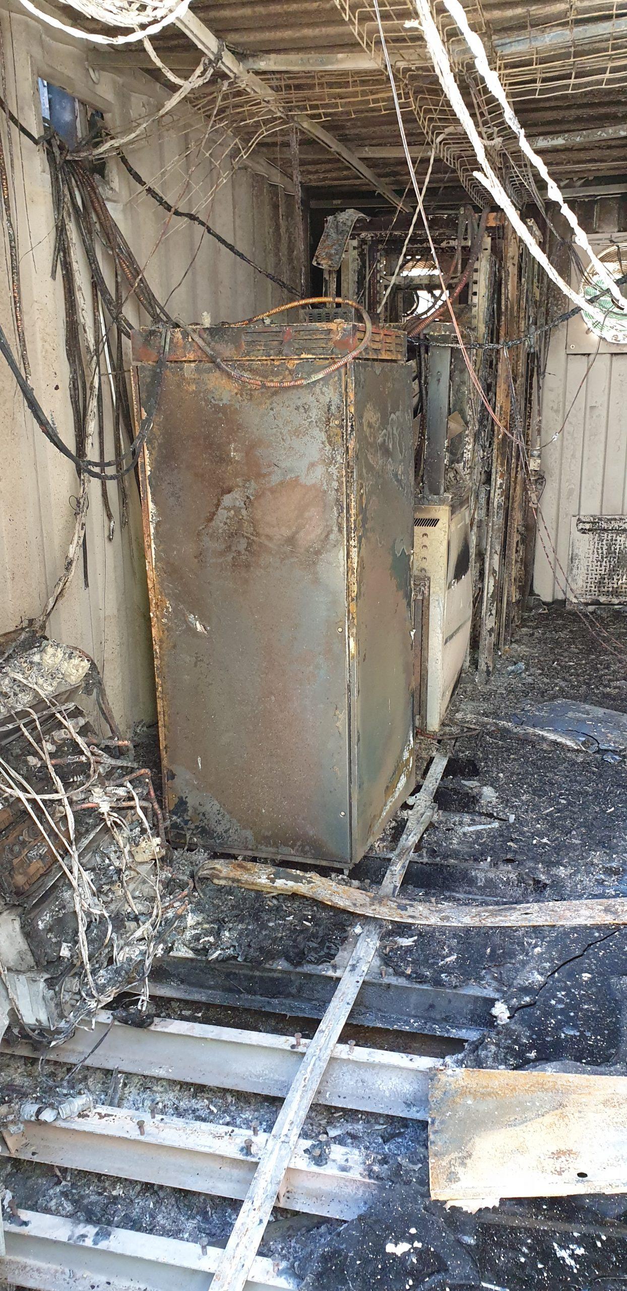 Incendie - vandalisme - maintenance