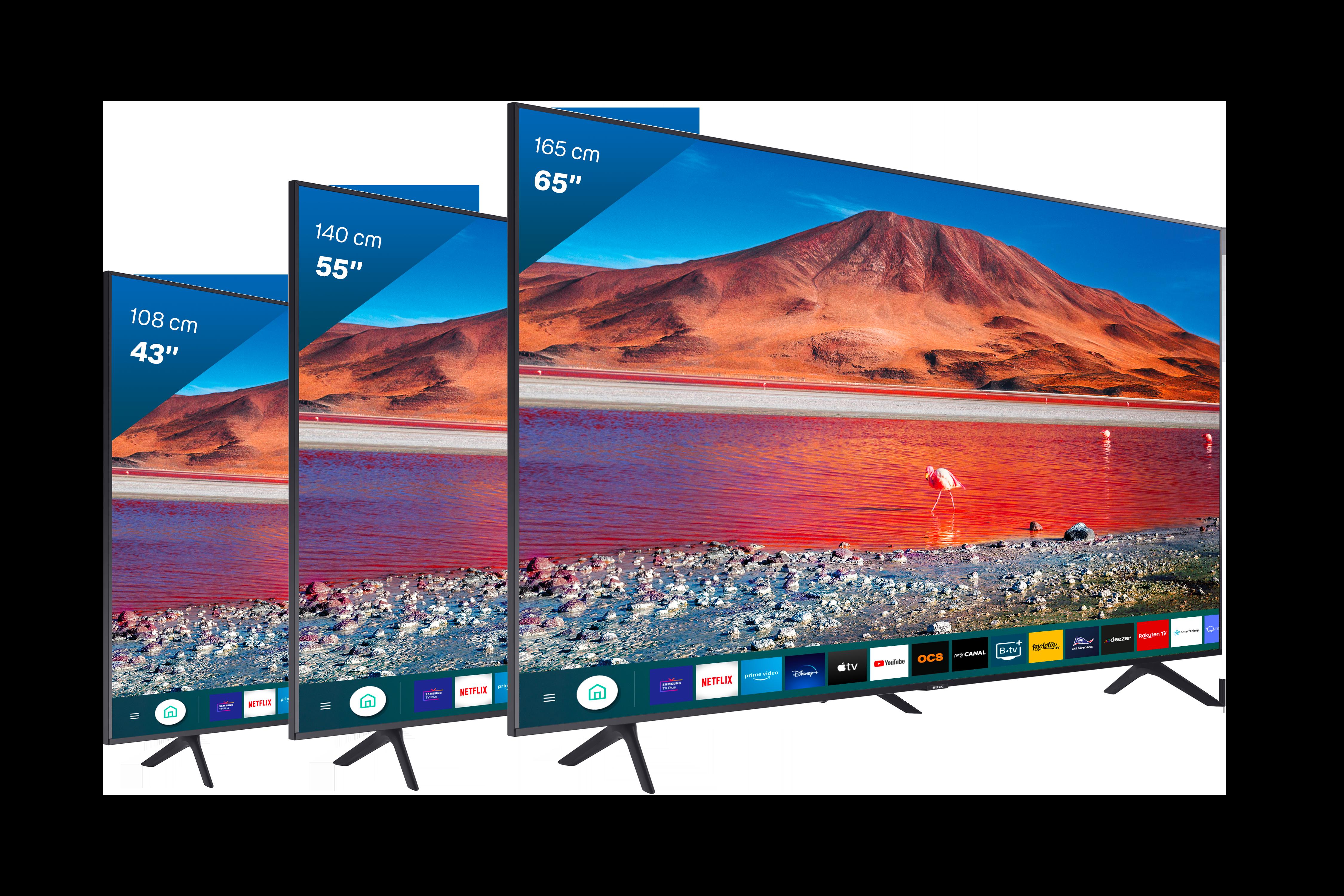 Gamme Télévisions Samsung - Bbox Smart TV - Applications