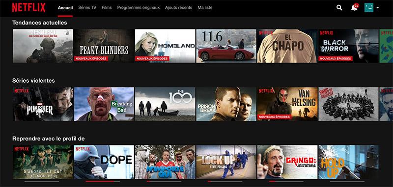 Netflix - Smart TV - Télé connectée - Bbox
