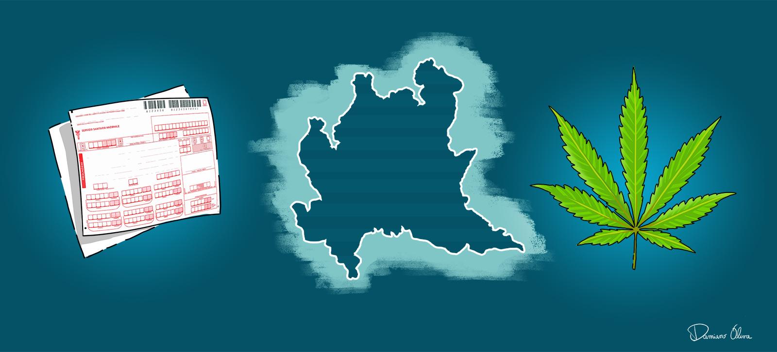 Cannabis terapeutica Lombardia - rimborsabilità e prescrizione - Cannabiscienza