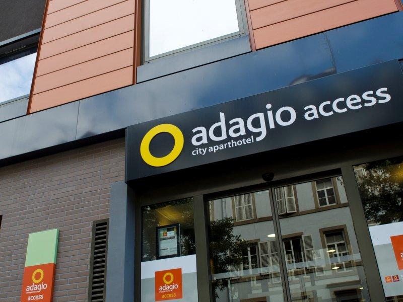 Aparthôtel Adagio access