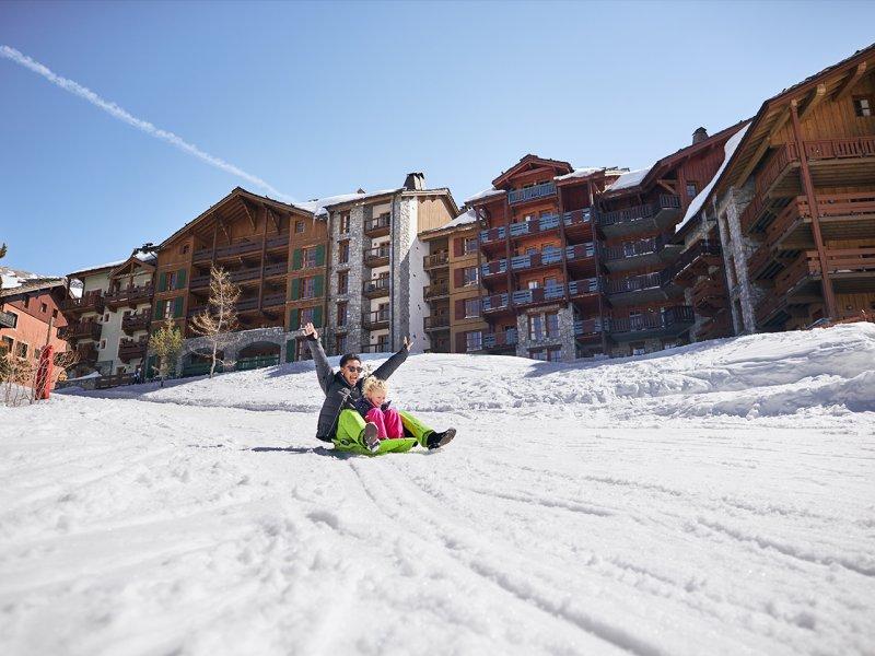 France - Alpes - Belle Plagne - La Plagne - Résidence Pierre & Vacances Les Gémeaux