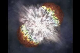 supernova como causa de andar erguido