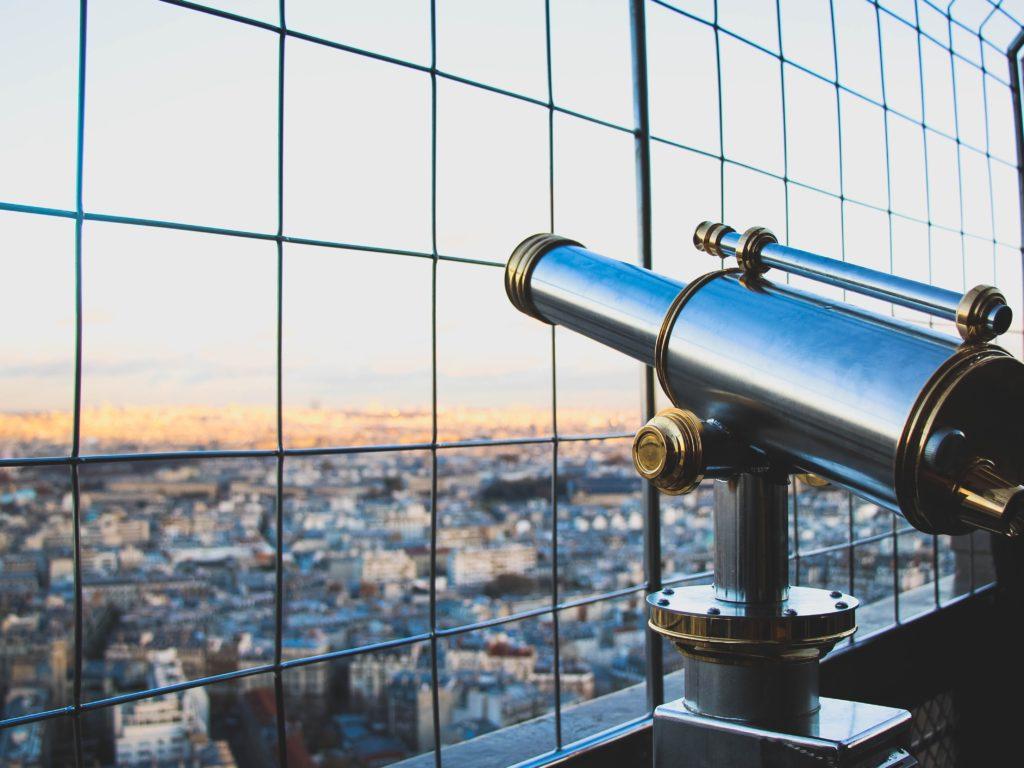 Longue vue sur la France