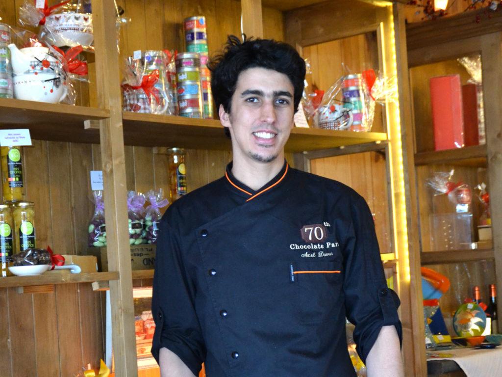 Axel Daous, artisan chocolatier à Canet en Roussillon