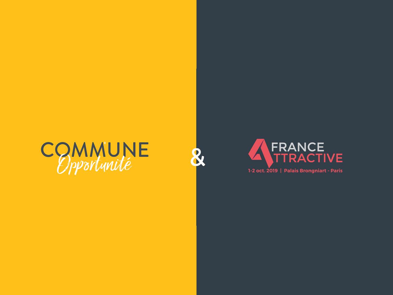 Partenariat Comm'une opportunité x France Attractive