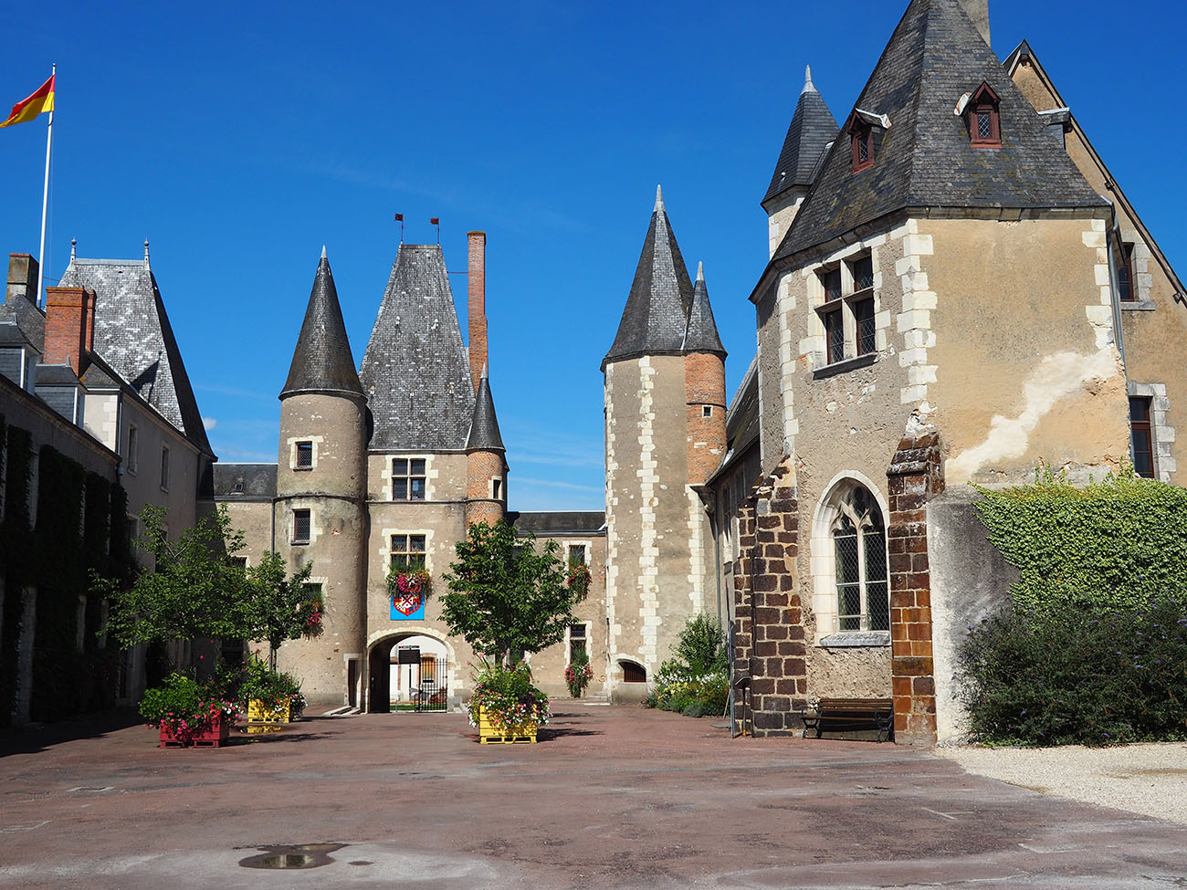 Petit cité de caractère - Aubigny sur Nère Centre-Val de Loire