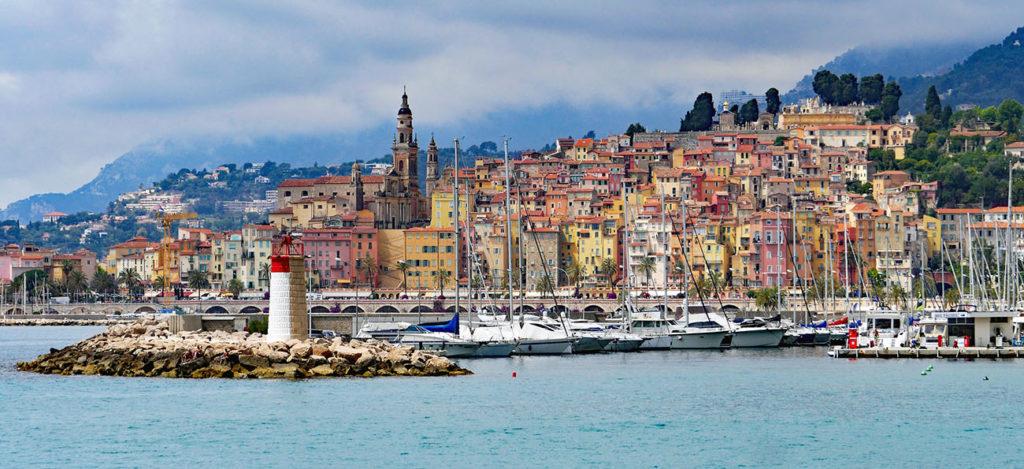 Menton et son port labellisé Pavillon Bleu