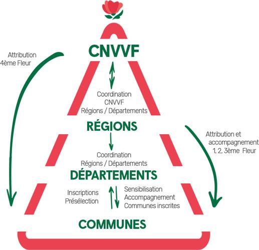 Villes et Villages fleuris, l'organisation