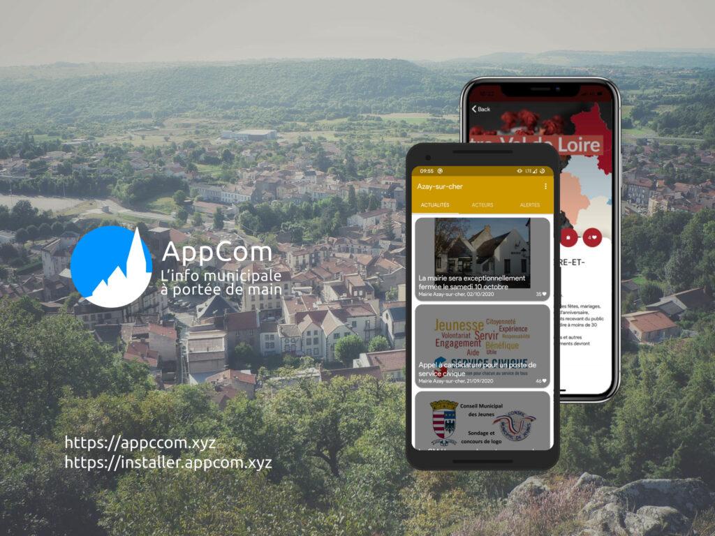 Découvrez l'application AppCom