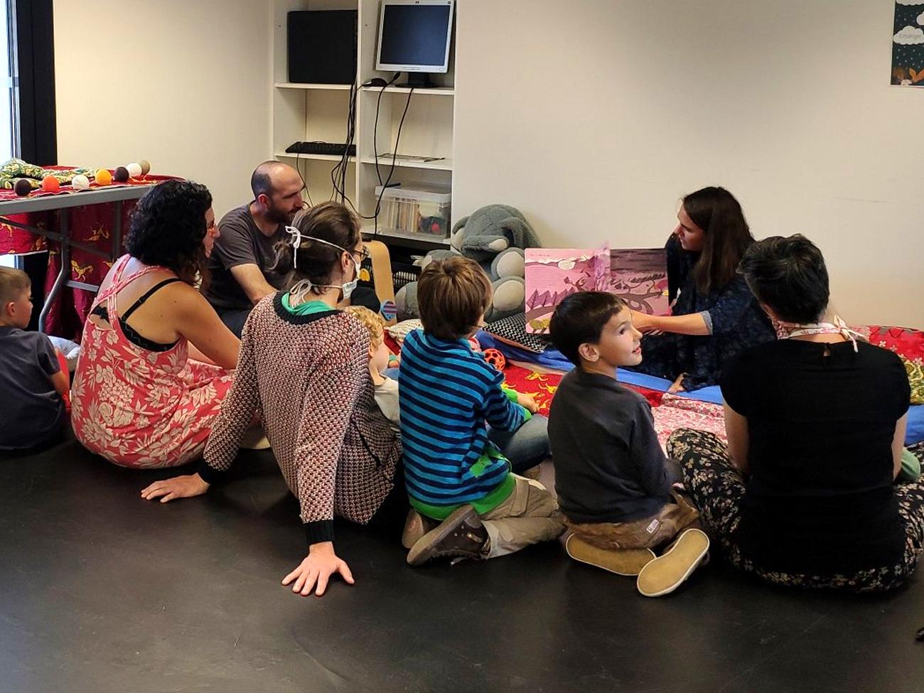 L'association Luska' organise des rencontres entre parents, professionnels & enfants