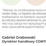Wywiad Gabriel Grabowski Dyrektor handlowy CONTENUR POLAND