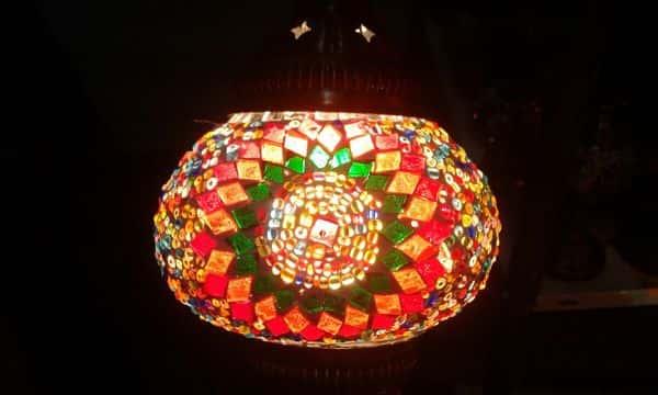 lamparas arabes