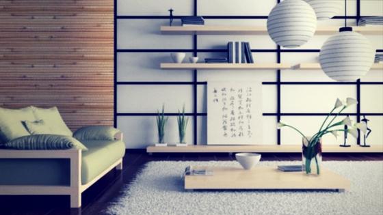 salon decorado estilo oriental