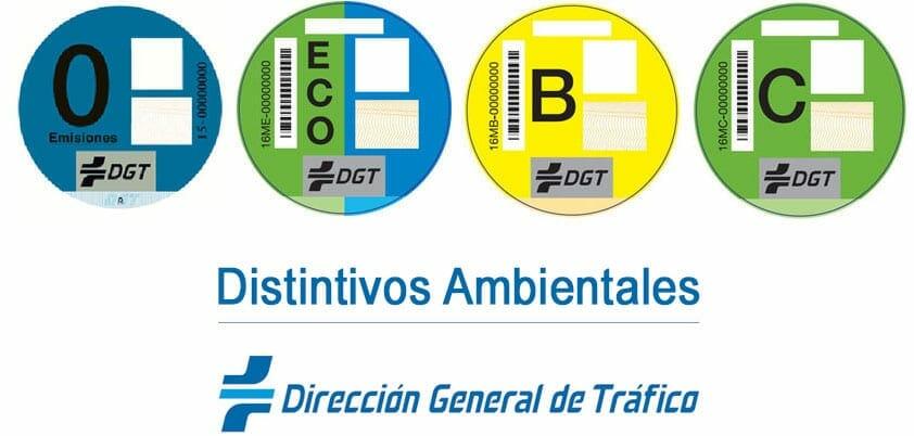 distintivo ambiental DGT