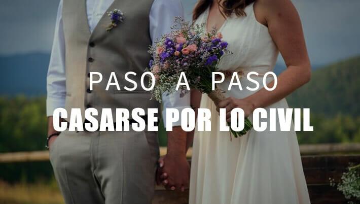 pasos para casarse por lo civil