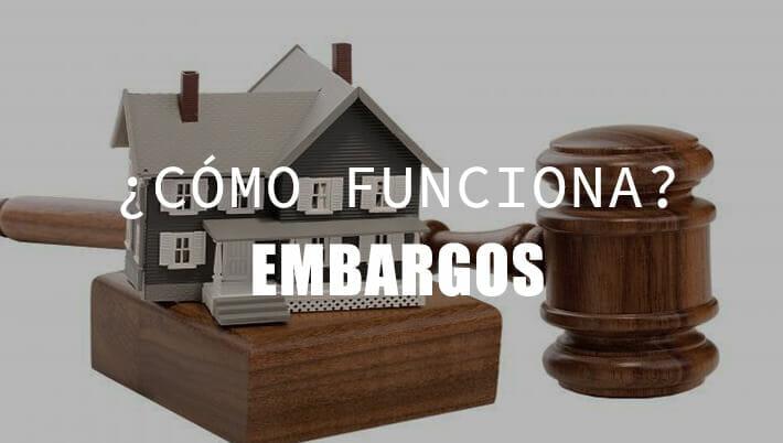 embargos judiciales y bancarios