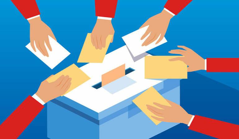 cómo votar por correo