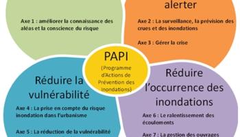 Schéma synthétique 7 axes du PAPI