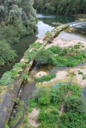 Barrage à Troussey