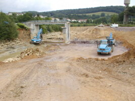 PIG Meuse - Excavation du clapet