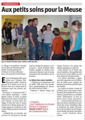Chargés Mission - Article presse