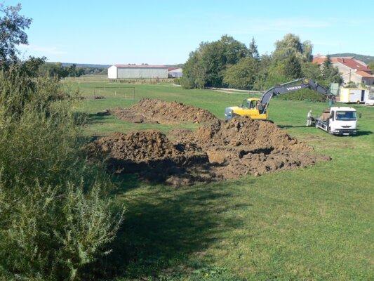 Diagnostic archéologique à Vrécourt (88)