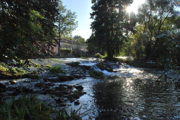 Seuil du Moulin de la riviere du Chêtre