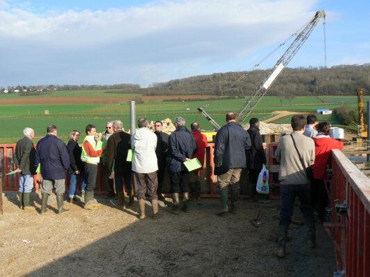 ZRDC - Visite chantier