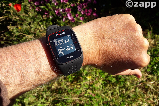 montre gps polar m430 running