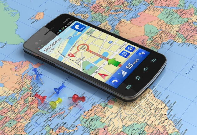 smartphone Android a le meilleur GPS