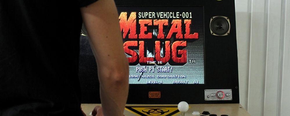 Borne d'arcade Metal Slug