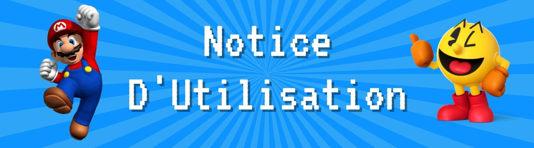 notice d'utilisation