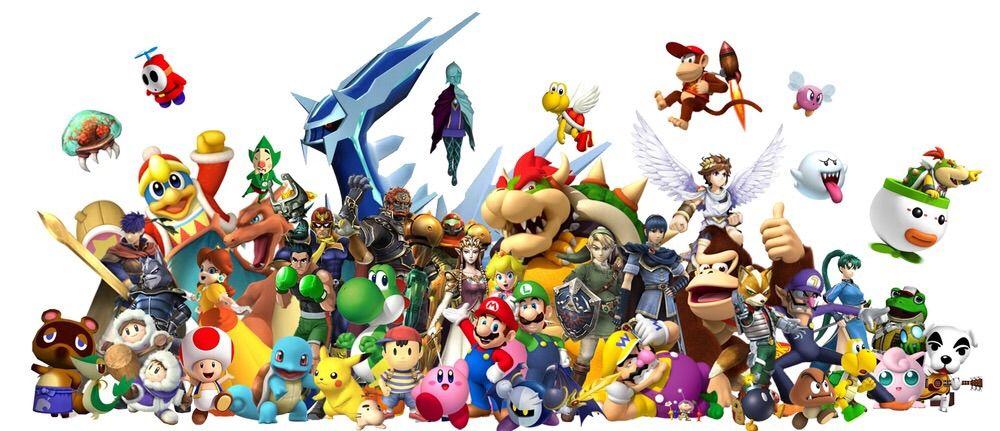 personnages jeux retro