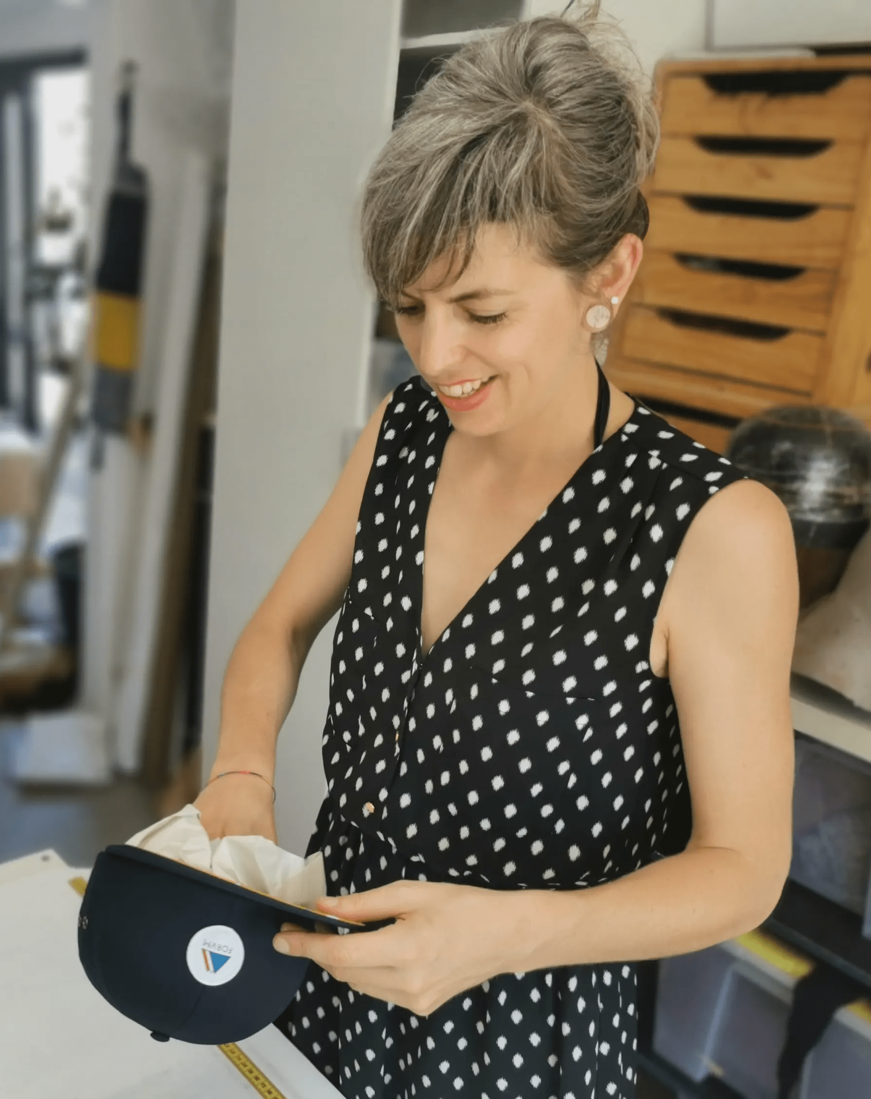 Casquette artisanale