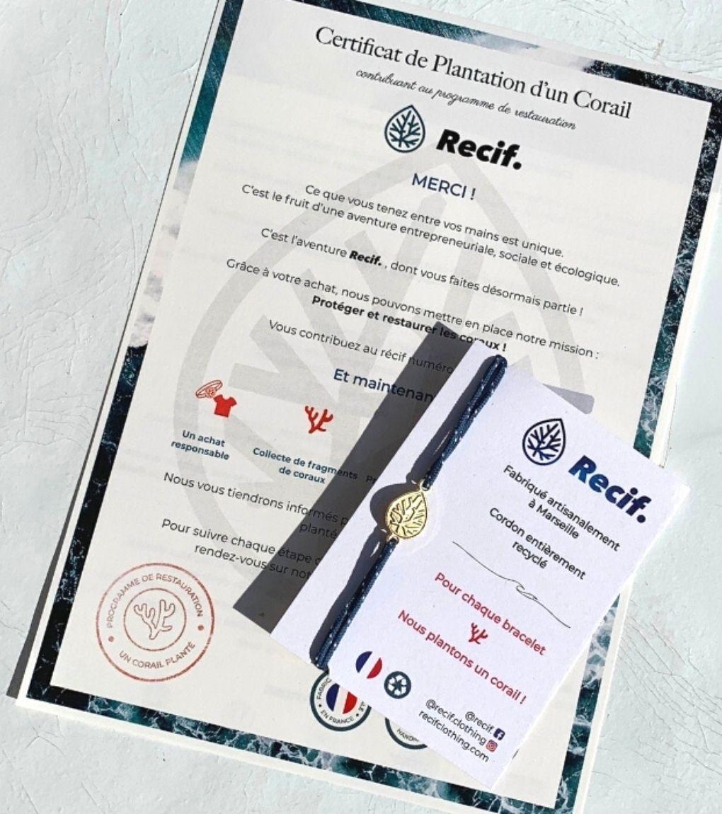 Certificat Recif