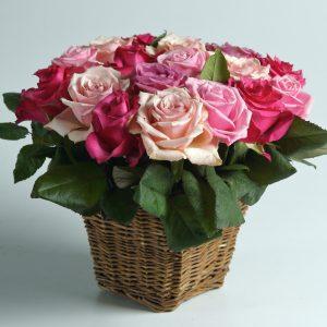 Cesto di fiori a domicilio a firenze