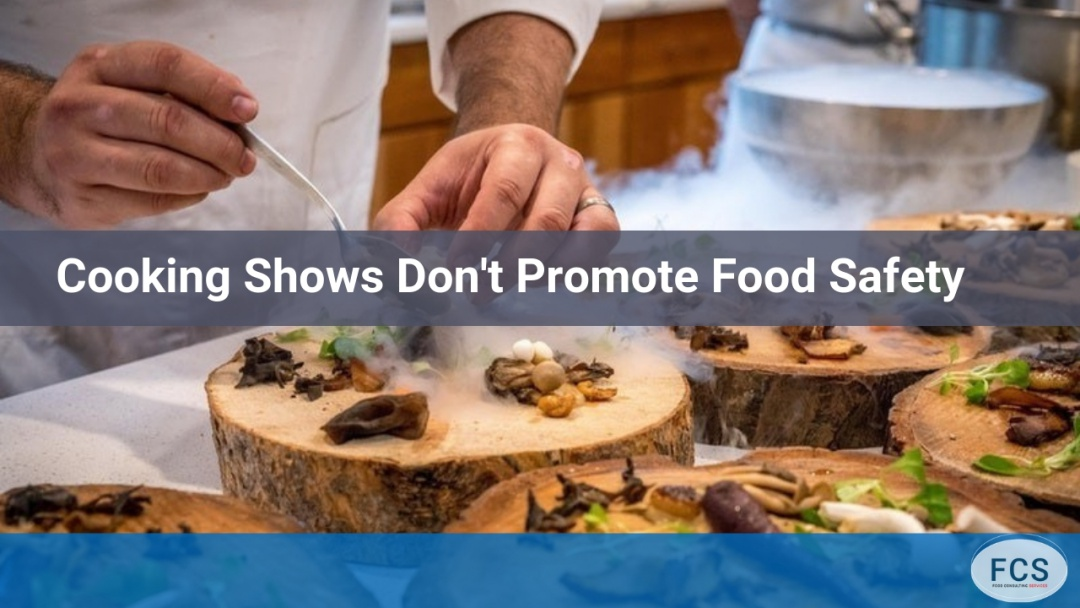 TV Cooking Shows Not Promoting Food Safety