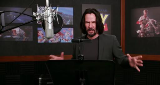 Keanu Reeves qui double Toy Story sera sans doute le meilleur moment de ta journée
