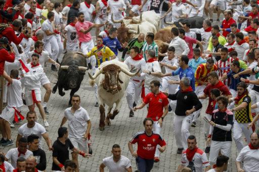 Espagne: déjà 3 encornés aux fêtes de la San Fermin à Pampelune