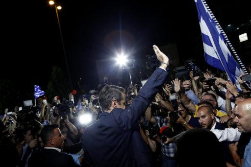 Alexis Tsipras, écrasé lors des élections législatives en Grèce