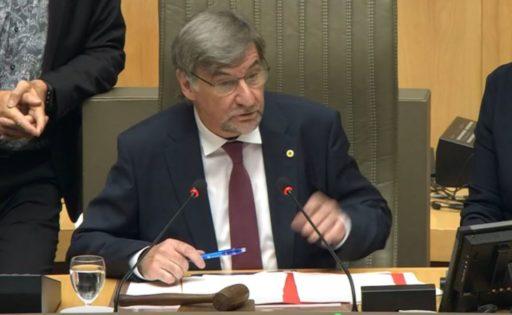 Wilfried Vandaele (N-VA) est officiellement le président du Parlement flamand