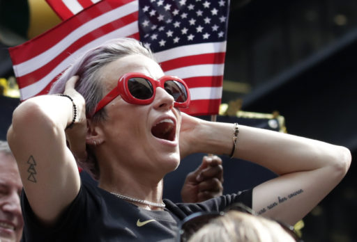 Megan Rapinoe en couverture de FIFA 20? Une pétition est lancée