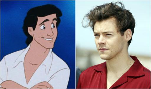 """Harry Styles pourrait jouer le Prince Eric dans """"La Petite Sirène"""""""