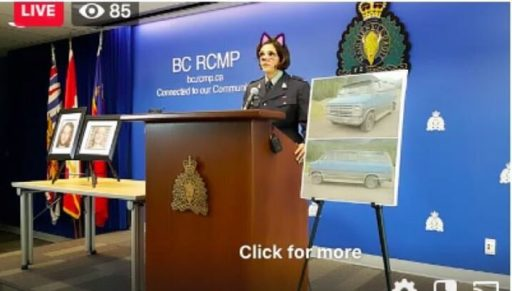 SOS crédibilité: la police canadienne fait un point presse en live avec un filtre de chat