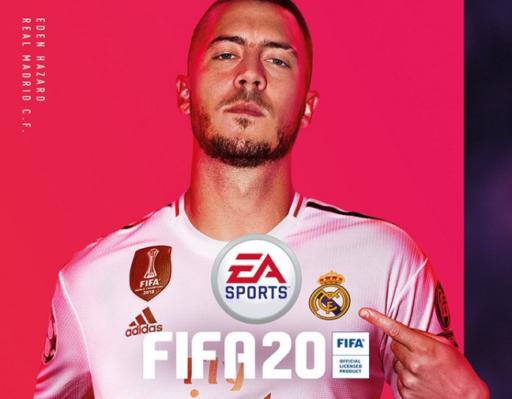 Tout simplement la classe: Eden Hazard est en cover de FIFA20