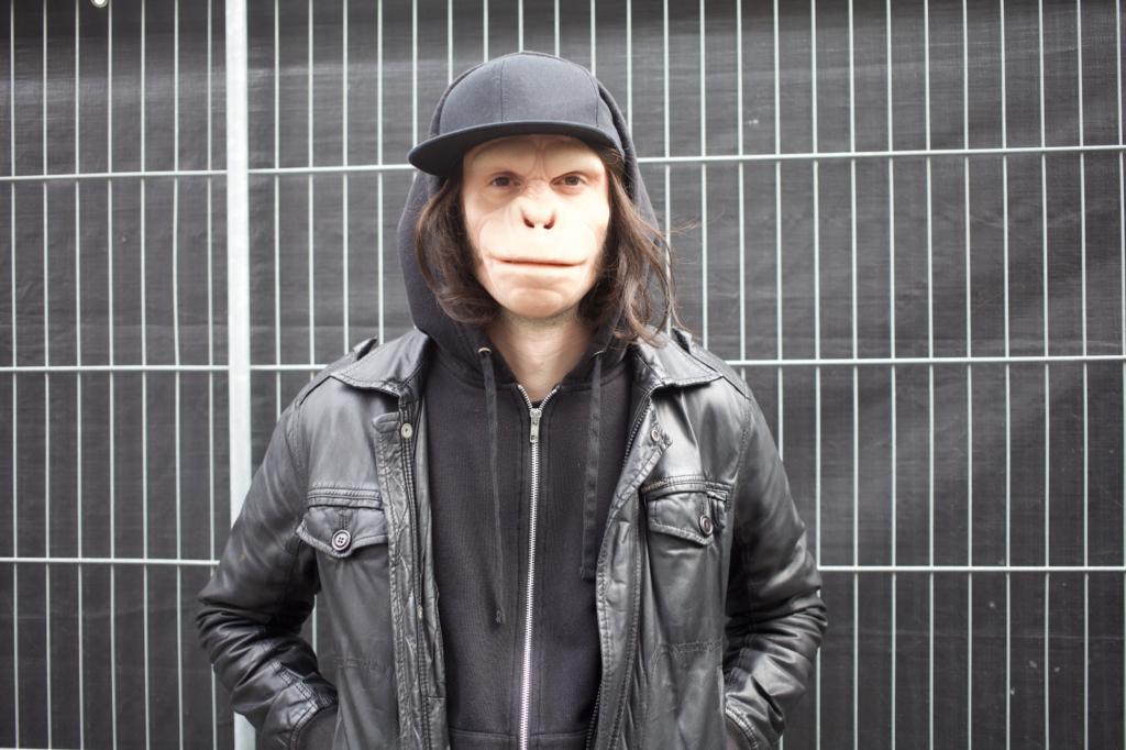 Le DJ au visage de singe Kid Noize