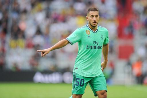 La démesure: le premier match d'Eden Hazard au Real Madrid sera diffusé sur écran géant à l'Atomium
